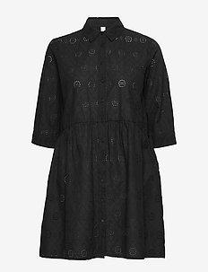 SC-IANI - skjortekjoler - black