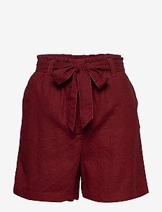 SC-INA - paper bag shorts - syrah