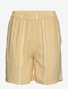 SC-ITALY - casual shorts - yellow combi