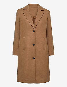 SC-ASTA - manteaux en laine - tan