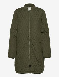 SC-FENYA - quilted jackets - dark army