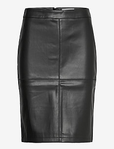 SC-BECKIE - midi kjolar - black