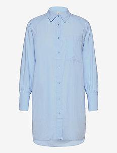 SC-NETTI - langærmede skjorter - powder blue