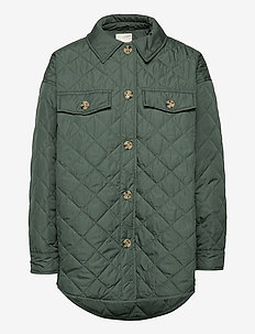 SC-FENYA - quilted jassen - shadow green