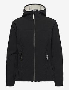 SC-JULLA - quilted jackets - black