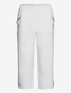 SC-AKILA - casual byxor - white