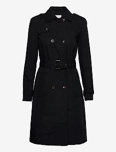 SC-LORA - trenchcoats - black