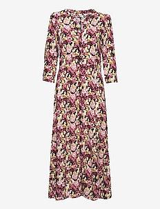 SC-ODESSA - alledaagse jurken - dark pink rose combi