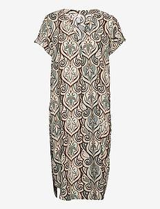SC-PARY - summer dresses - aqua combi