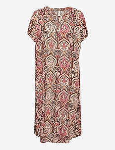 SC-PARY - summer dresses - pink combi