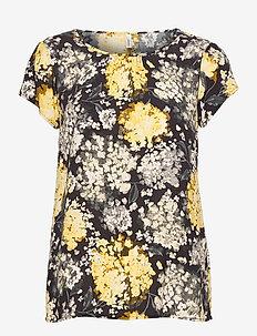 SC-PARIS - t-shirts - lemon combi