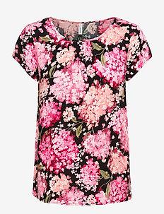 SC-PARIS - t-shirts - pink combi