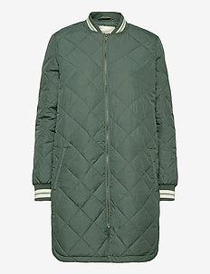 SC-FENYA - quiltede jakker - shadow green