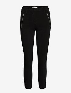 SC-LILLY - broeken med skinny fit - black