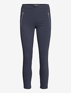 SC-LILLY - trousers with skinny legs - navy