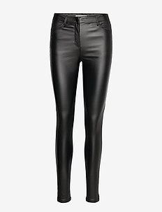 SC-PAM - spodnie skórzane - black