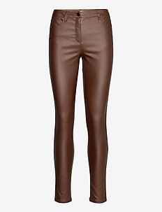 SC-PAM - leather trousers - brown