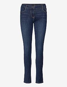 SC-KIMBERLY LANA - slim jeans - dark blue denim