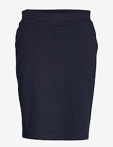 SC-ELY - midi skirts - navy