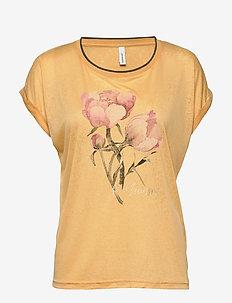SC-PANIK - t-skjorter med trykk - yellow