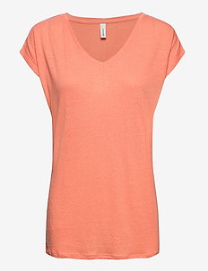 SC-ISABEL - t-shirts - peach