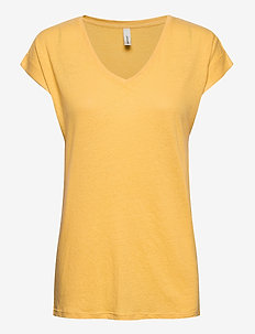 SC-ISABEL - t-shirts - yellow