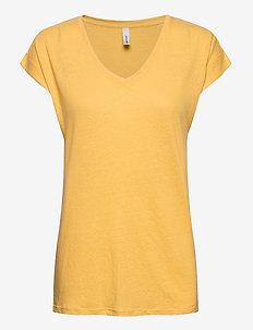 SC-ISABEL - t-shirts - yellow
