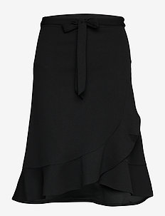 SC-SIHAM - midi rokken - black