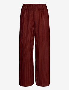 SC-KIRIT - bukser med brede ben - brick