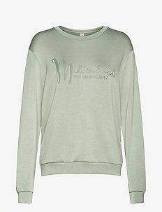 SC-BANU - sweatshirts - mineral green