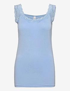 SC-MARICA - linnen - powder blue