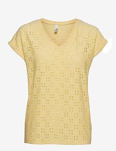 SC-INGELA - t-shirt & tops - lemon