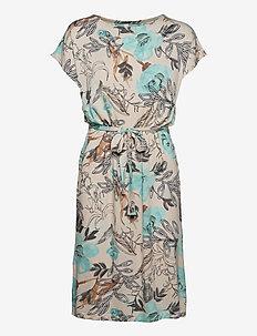 SC-LIBA - everyday dresses - aqua combi