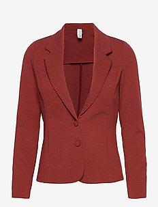 SC-DANIELA - casual blazers - brick