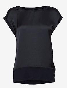 SC-THILDE - blouses korte mouwen - navy