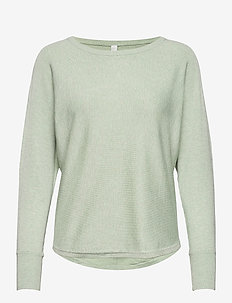 SC-DOLLIE - truien - light green melange