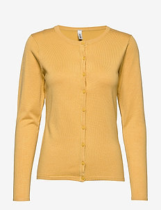 SC-DOLLIE - cardigans - yellow