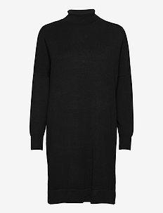 SC-DOLLIE - sukienki dzianinowe - black