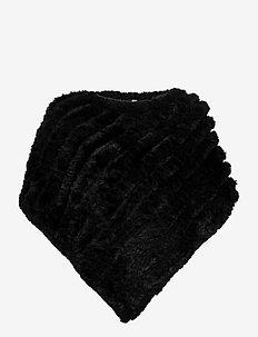 SC-NABI - ponchos & capes - black