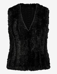 SC-NABI - vatteret veste - black
