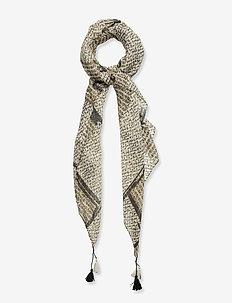 SC-NANINA - scarves - cream combi