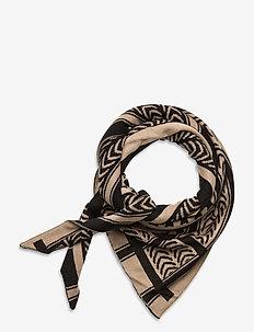 SC-BUKET - scarves - camel combi