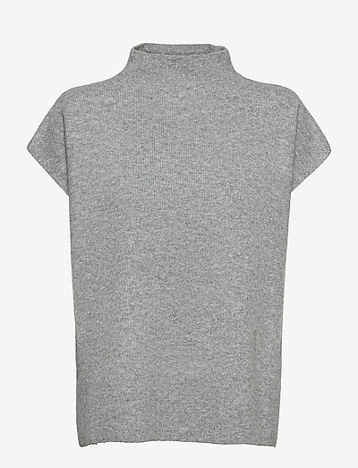 SC-RINIE - t-shirt & tops - med. grey melange
