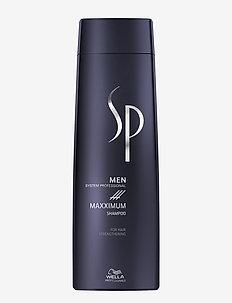 SP Men Maxximum Shampoo - shampoo - no colour