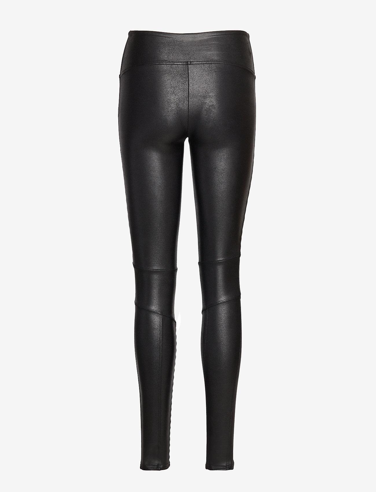 Spanx - MOTO - leggings - very black