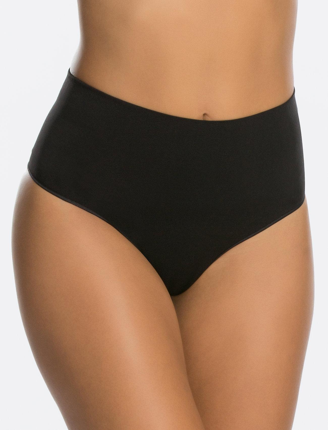 Spanx - Everyday Shaping Panties Thong - bottoms - black - 0