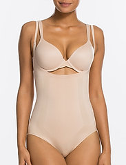 Spanx - Oncore Open-Bust Panty Bodysuit - toppe - soft nude - 0
