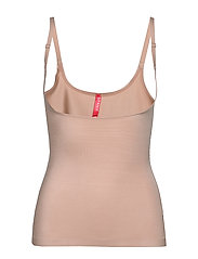 OPENBUST CAMI - CHAMPAGNE BEIGE