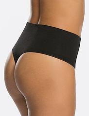 Spanx - Everyday Shaping Panties Thong - bottoms - black - 4