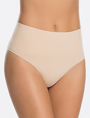Spanx - Everyday Shaping Panties Thong - bottoms - soft nude - 0